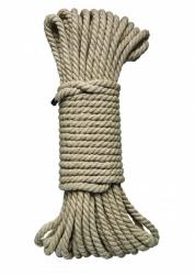 Bondage Seil Hanf Natur Kink Bind and Tie 15 Meter 6mm