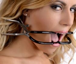 Dentalsperre Mundsperre Jennings mit Gummibeschichtung