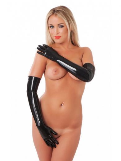 Latex Handschuhe lang Unisex