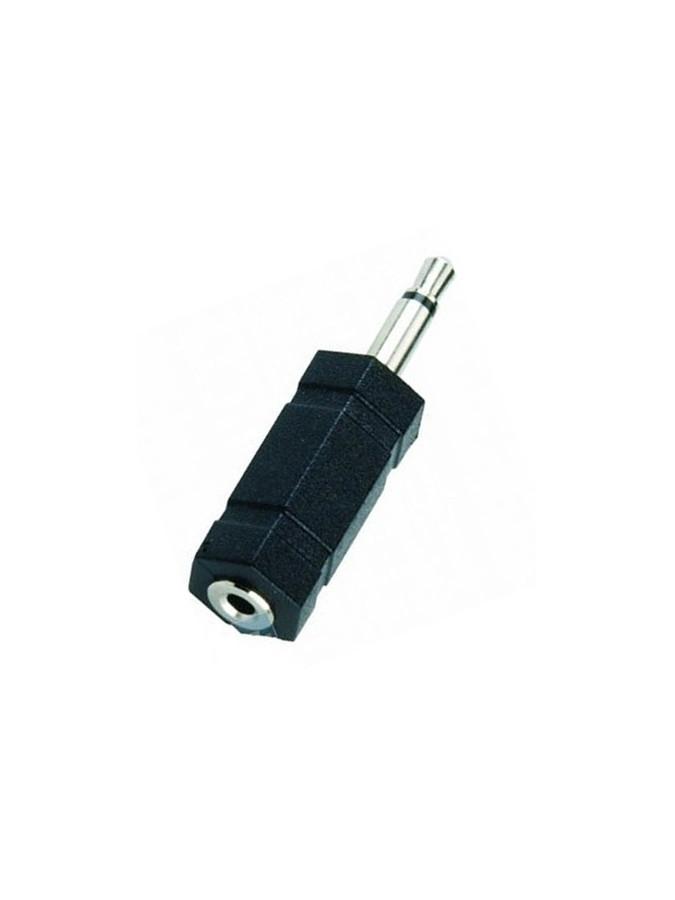 adapter stecker 2 5 mm m klinke auf 3 5 mm f. Black Bedroom Furniture Sets. Home Design Ideas