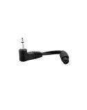 Adapter 2.5mm Jack to Round Plug Mystim female