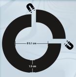 Cockring / Hodenstrecker magnetisch 5.1cm