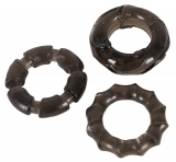 Cock-Rings-Set elastic Stretchy Rings TPE