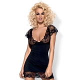 Chemise Dress Set Stretch and Lace Laura