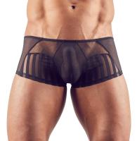 Mens Mesh-Shorts Stripes