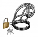 Stainless Steel Chastity Cage Captus