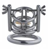 Keuschheitskäfig mit Harnröhrenspreizer Cleaver Deluxe