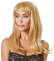 Long Hair Wig Blonde with Bangs Linda
