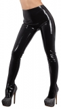 Latex Pantyhose black unisex