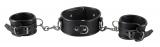 Leather Collar Wrist Restraints Set