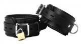 Leder Handfesseln Premium abschliessbar