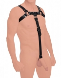 Leder Riemen Harness British Bulldog