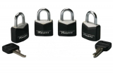 Mini Padlocks 4-Pc. Set