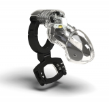 Mystim Pubic Enemy Nr-3 E-Stim Chastity Cage w. Balls Press