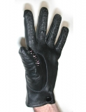 Pin-Gloves Vampire Gloves Leather medium