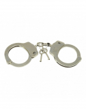 Police Handcuffs extra strong silver