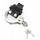 Polizei Handschellen Leder Gürtelhalterung