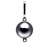 Stahl Kugelgewicht verchromt mit Öse 226 Gramm