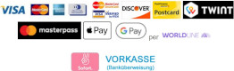 Zahlungsmethoden / Payment methods
